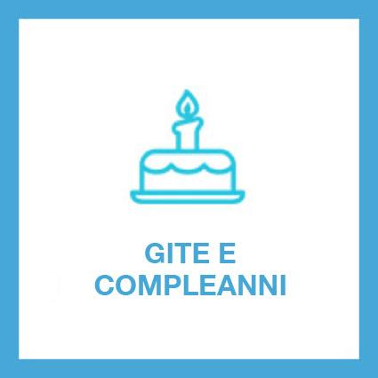 Periodicamente sono organizzate gite d'interesse culturale e/o religioso (una tantum).. Ad ogni compleanno viene organizzata una festa e forniti torta e spumante.
