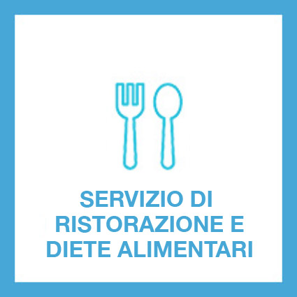 Viene garantito un dignitoso servizio di ristorazione (colazione, pranzo, merenda pomeridiana, cena e tisane serali) e dove previsto il mantenimento di diete alimentari su segnalazione dei medici competenti.