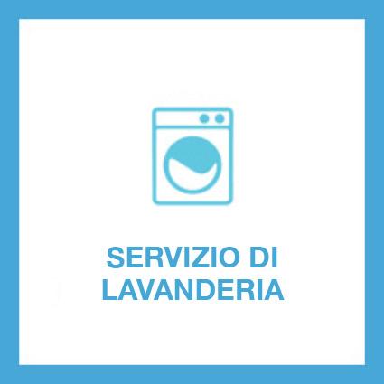 Il servizio di lavanderia, guardaroba e cambio di stagione sono interni alla struttura.