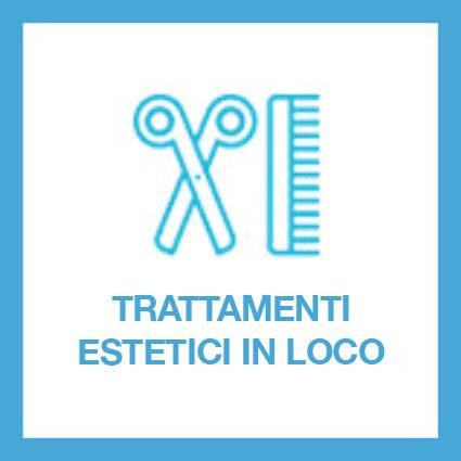 È possibile usufruire di servizi estetici come taglio capelli e messa in piega, manicure-pedicure e massaggi. Il servizio è su prenotazione e non compreso nella retta mensile.
