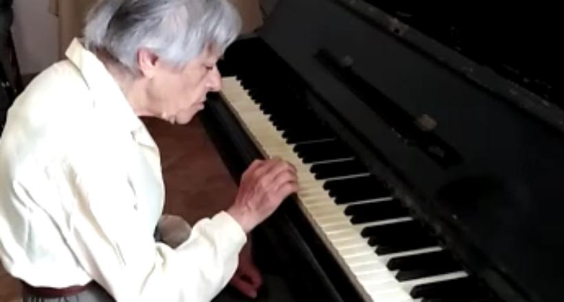 Fulvia al pianoforte