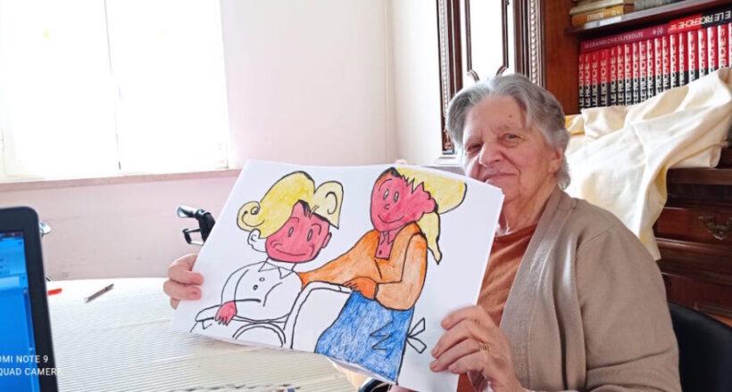 laboratorio festa dei nonni, Divino Amore-8