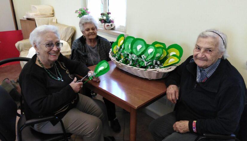 nonna augusta con nonna elsa e nonna adalgisa